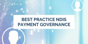 NDIS governance
