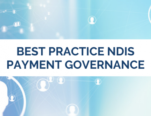 Best Practice NDIS Payment Governance