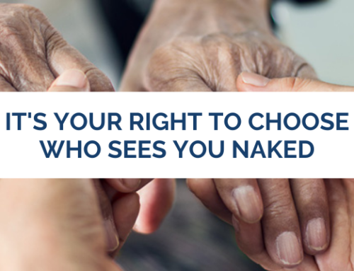 It's Your Right To Choose Who Sees You Naked